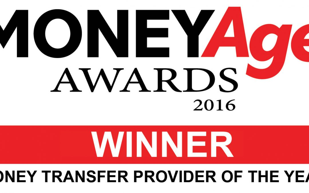 Best Money Transfer Provider of the Year